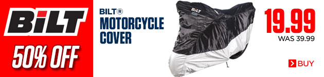 BiLT Motorcycle Cover 50% Off!