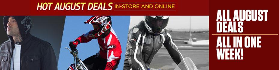 August Deals ending including the Best Selling BiLT Explorer Adventure Helmet just $99.99!