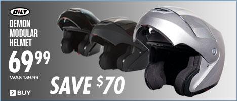 Save $70 on BiLT® Demon Modular Helmets
