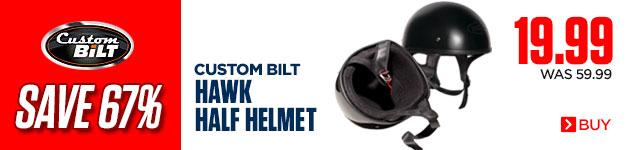 Save 67% on Custom BiLT Hawk Half Helmets